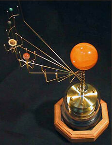 Orrery Antiques EBay - Accurate map of the solar system