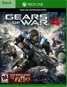 Gears of War 4 MINT with unused codes