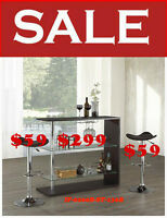 benches, vanities, stools, mini bar, chairs, tv tables, mvqc