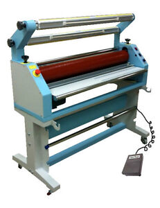 """USTECH MJ55"""" Cold Laminator with Auto Liner Pickup System film"""