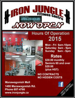 Senior Rates at West Side's Iron Jungle Fitness Centre