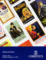 EXTREMELY RARE MOVIE POSTERS CATALOGUE CHRISTIE'S AUCTION HOUSE
