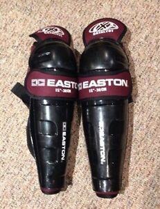 "15"" Easton shin pads"