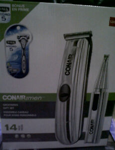 (BNIB)Conair for Men 14-piece Grooming Gift Set