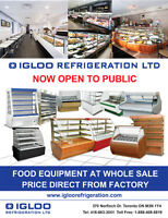 IGLOO food equipment new & used restaurant equipment & supplies