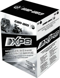 Can-Am OEM XPS Synthetic  Maintenance Oil Change Kit 5w30