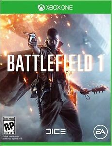 Battlefeild 1 Xbox 1 New!