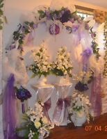 PURPLE WEDDING DECORATION SET FOR RENT FOR ONLY $200!!