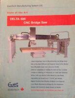 CNC BRIDGE STONE SAW MACHINE