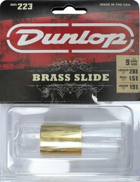 Jim Dunlop 223 Brass Knuckle Guitar Slide 223K