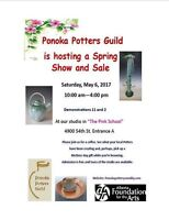 Ponoka Potters Guild Show and Sale