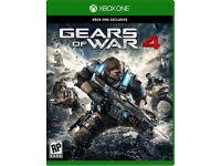 Brand new gears of war 4 still wrapped