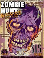 Halloween Zombie Hunt Paintball Bus Ride! All ages!!
