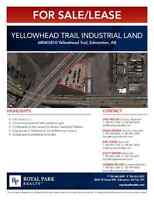 Yellowhead Trail Industrial Land For Sale/Lease 0.81 Acres