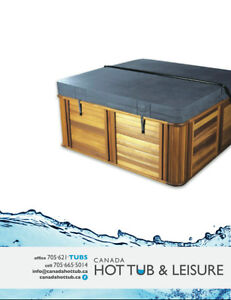 HOT TUB COVERS - CALL TODAY - FREE DELIVERY! 705-621-TUBS(8827)