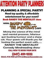 Attention Party Planners!!!