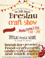 VENDORS WANTED - 26th Annual Breslau Craft Show