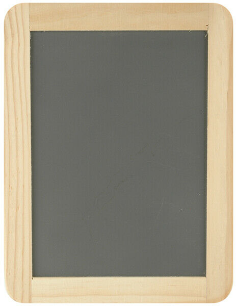 """Darice Framed Chalkboard -5 inches X7"""" Black with a wooden frame"""