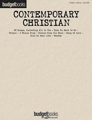 Contemporary Christian Sheet Music Budget Books Piano Vocal Guitar Son - Christian Guitar Sheet Music