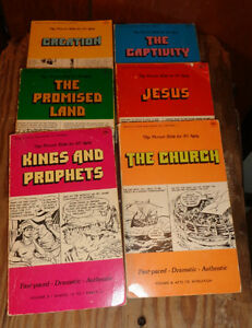 The Picture Bible 6 volume set by Iva Hoth