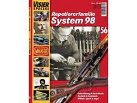 Plakat /'Mauser Waffen Verteidigung/' K98 Karabiner Luger Poster Für Jagd Sport