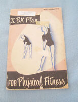 1962 RCAF (Royal Air Force) Plan for Physical Fitness Booklet