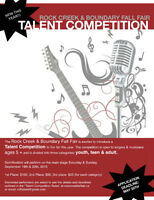 Talent Competition - Rock Creek Fall Fair