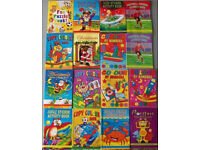 2000 assorted job lot party bag A6 sized sticker, colouring, puzzle, activity books