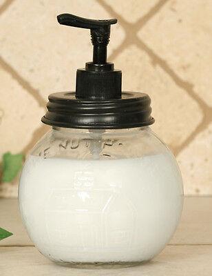 Primitive/Farmhouse/Cottage/Country Nut House Soap Lotion Dispenser