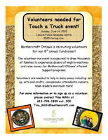 VOLUNTEERS NEEDED! (Touch a Truck 2015)