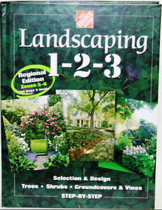 LANDSCAPING 1-2-3 BOOK (New)