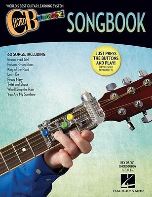 Guitar Chord Songbook Book - ChordBuddy Guitar Method Songbook - Chord Buddy Book Only - NEW 000123998