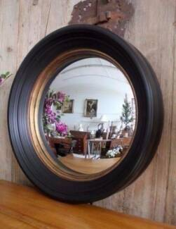 Brand New Large Gorgeous Convex Round Wall Hanging Mirror