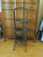 Vintage Wood PLANT STAND - 3 Tier City of Montréal Greater Montréal Preview