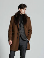 BRAND NEW MENS LUXURIOUS TIGER OF SWEDEN MIKA FUR COAT SIZE 42