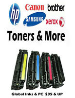 HP - Canon - Brother - Samsung Toner Cartridges - In Store