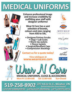 Uniforms, Scrubs, Clogs, Lab Coats & Stethoscopes, Accessories Windsor Region Ontario image 1