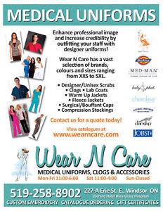 Uniforms, Scrubs, Clogs, Lab Coats & Stethoscopes, Accessories