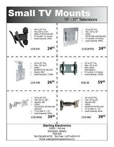 Wall Mounts for Every Size LCD & Plasma And DLP Bulbs Edmonton Edmonton Area image 3
