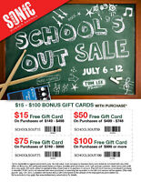 School's Out Sale At Tom Lee Music!