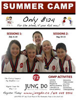 SUMMER CAMP ONLY $124 www.jungdo.ca