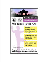 FREE CLASSES IN THE PARK