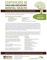Child and Adolescent Mental Health Program - N. College