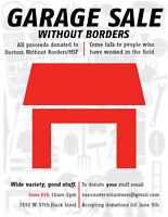 Garage Sale Without Borders
