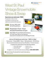 West St. Paul Vintage Snowmobile Show & Swap