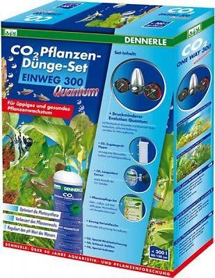 2 Pflanzen (CO2 Pflanzen-Dünge-Set Einweg 300 Quantum)