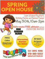 Spring Open House at the Playtrium
