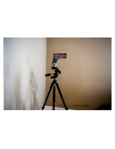 Tripod 3 way and Pano heads ideal for Shooting Virtual Tours