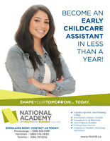 WORK AS CHILDCARE ASSISTANT