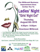 11th Annual Ladies Night in Millbrook Ontario
